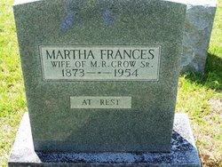 Martha Frances <I>Stewart</I> Richardson Crow