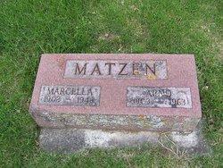 Marcella <I>Konz</I> Matzen