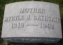 Myrtle <I>Johnston</I> Bathgate