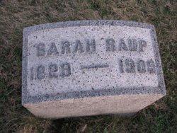 Sarah <I>Wagner</I> Raup