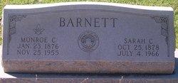 "Monroe Calhoun ""Cal"" Barnett"