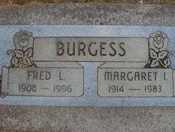 Margaret Irene <I>Ford</I> Burgess
