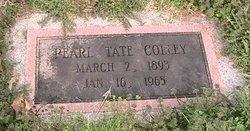 Pearl Rebecca <I>Tate</I> Colley