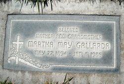 Martha May <I>Beeks</I> Gallarda