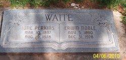 Erwin Noble Waite