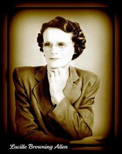 Lucille <I>Browning</I> Allen