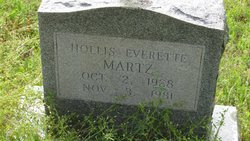 Hollis Everette Martz