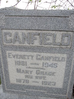 Mary Grace <I>Tewell</I> Canfield