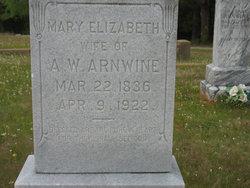 Mary Elizabeth <I>Pickens</I> Arnwine