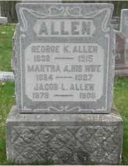 Martha Angeline <I>Gross</I> Allen