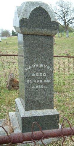 Mary B <I>Moore</I> Byrd