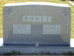 Helon <I>Montgomery</I> Boney