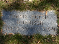 Fannie Frink <I>Pettit</I> Morrison