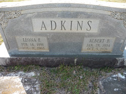 Leona F <I>Strickling</I> Adkins