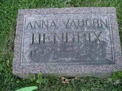 Anna Marie <I>Vaughn</I> Hendrix