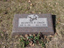 Reanette Phyllis Green