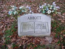 Arletta Y <I>Nelson</I> Abbott