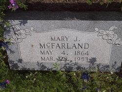 """Mary Jane """"Mollie"""" <I>Ake</I> McFarland"""