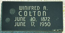 Winifred A Colton