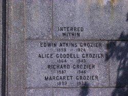 Alice <I>Goodell</I> Grozier