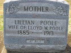 Lillian <I>Shrode</I> Poole