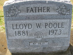 Lloyd William Poole