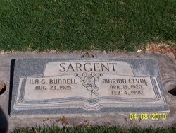 Marion Clyde Sargent