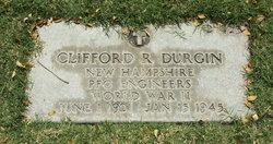 PFC Clifford R Durgin