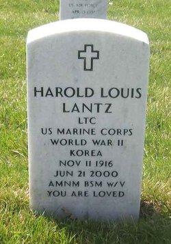 LTC   Harold Louis Lantz