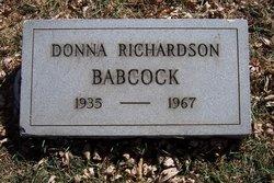 Donna Jean <I>Richardson</I> Babcock