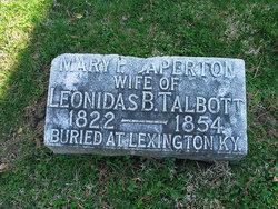Mary P <I>Caperton</I> Talbott