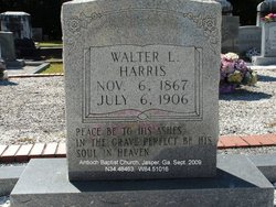 Walter L Harris