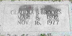 Claudia <I>Blanchard</I> Brooks