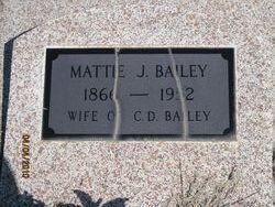 Mattie Jane <I>England</I> Bailey