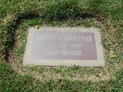 Amanda Theodora <I>Hirschler</I> Hostettler