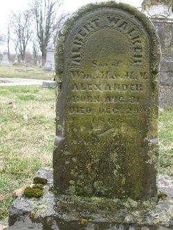 Albert Walker Alexander