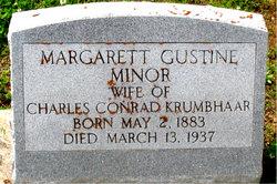 Margarett Gustine <I>Minor</I> Krumbhaar