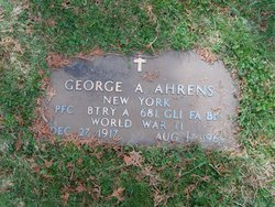 George A Ahrens