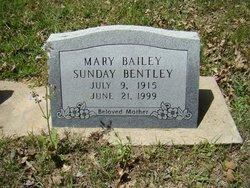 Mary <I>Bailey</I> Bentley
