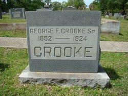 George F Crooke, Sr