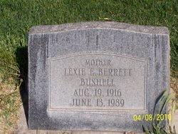 Lexie Barrett <I>Howard</I> Bushell