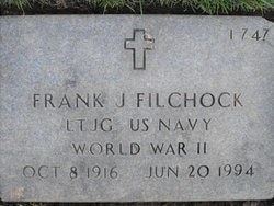 LTJG Frank Joseph Filchock