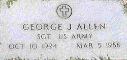 "George Washington ""Pug"" Allen, Jr"