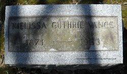 Melissa Ellen <I>Guthrie</I> Vance