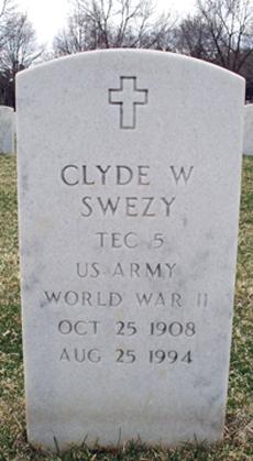 Clyde W Swezy