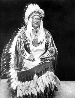 "Chief John Matowatakpe ""Charging Bear"" Grass"