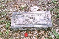 Terrell Louise <I>Dobbs</I> Webb