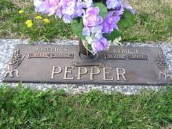 Sybil Lee <I>Jeffries</I> Pepper