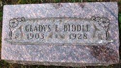 Gladys Edythe <I>Crume</I> Biddle