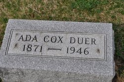 Ada <I>Cox</I> Duer